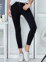 Ciemnoszare jeansy rurki                                   zdj.                                  1
