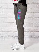 Ciemnoszare spodnie dresowe dla dziewczynki LITTLE CUTE PONY                                  zdj.                                  3