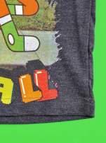 Ciemnoszary t-shirt chłopięcy GUMBALL                                                                          zdj.                                                                         5