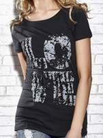 Ciemnoszary t-shirt z napisem LOVE Funk n Soul                                  zdj.                                  5