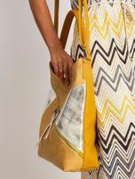 Ciemnożółta torba na ramię                                  zdj.                                  3