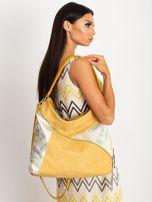 Ciemnożółta torba na ramię                                  zdj.                                  4