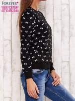 Czarna bluza motyw kokardek