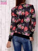Czarna bluza motywy roślinne                                  zdj.                                  4