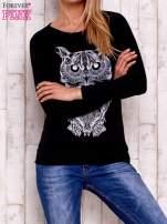 Czarna bluza z sową                                  zdj.                                  1