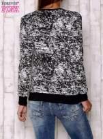 Czarna bluza ze złotym motywem                                  zdj.                                  4