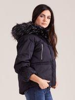Czarna damska kurtka na zimę                                  zdj.                                  3