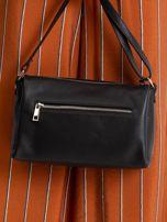 Czarna damska torebka skórzana                                  zdj.                                  5