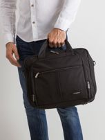 Czarna męska torba na laptopa                                  zdj.                                  1