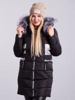 bd1dfed9a45f Czarna pikowana kurtka zimowa PLUS SIZE - Kurtka zimowa - sklep ...