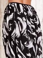 Czarna plisowana spódnica midi z brokatem                                  zdj.                                  6