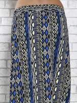 Czarna spódnica maxi w azteckie wzory                                  zdj.                                  7