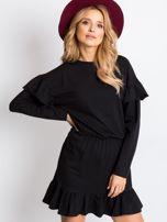 Czarna sukienka Frills                                  zdj.                                  5