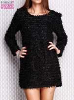 Czarna sukienka fluffy                                   zdj.                                  1