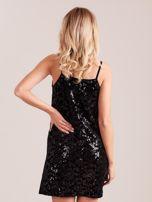 Czarna sukienka mini                                   zdj.                                  4