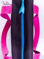 Czarna torba shopper bag dla dziewczynki DISNEY Violetta                                  zdj.                                  3