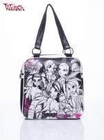 Czarna torba szkolna DISNEY Witch                                                                          zdj.                                                                         1