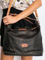 Czarna torba ze ściągaczem                                  zdj.                                  5