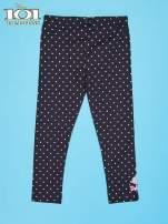 Czarne legginsy dla dziewczynki 101 DALMATYŃCZYKÓW                                  zdj.                                  2