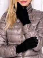Czarne rękawiczki do obsługi ekranów dotykowych                                  zdj.                                  1