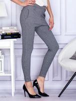 Czarne spodnie w pepitkę                                  zdj.                                  5