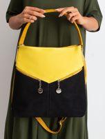 Czarno-żółta torba miejska                                  zdj.                                  1