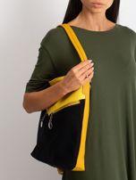 Czarno-żółta torba miejska                                  zdj.                                  2