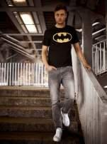 Czarny t-shirt męski BATMAN                                                                          zdj.                                                                         15