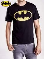 Czarny t-shirt męski BATMAN                                                                          zdj.                                                                         4