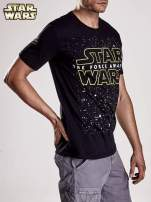 Czarny t-shirt męski motyw STAR WARS                                                                          zdj.                                                                         5