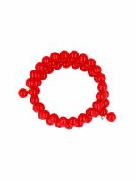 Czerwona Bransoletka koralikowa