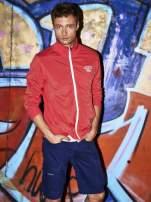 Czerwona bluza męska na suwak Funk n Soul                                  zdj.                                  1