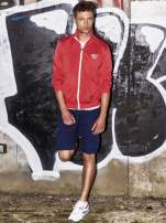 Czerwona bluza męska na suwak Funk n Soul                                  zdj.                                  17