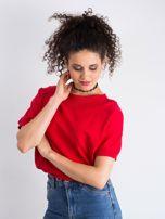 Czerwona bluzka Lemontree                                  zdj.                                  3