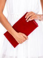 Czerwona prostokątna kopertówka                                  zdj.                                  3