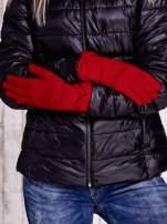 Różowe rękawiczki z kokardą w stylu retro                                                                          zdj.                                                                         2