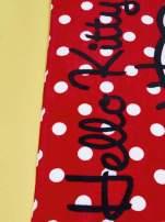 Czerwony szlafrok dla dziewczynki HELLO KITTY                                  zdj.                                  7