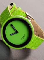 Damski zielony zegarek                                  zdj.                                  1