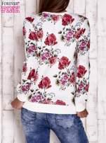 Ecru bluza motywy roślinne                                  zdj.                                  4