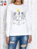 Ecru bluza z godłem                                  zdj.                                  1