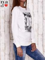 Ecru bluza z napisem PARADISE
