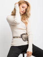 Ecru sweter Milo                                  zdj.                                  1