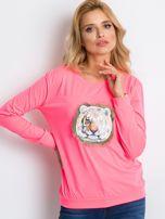 Fluo różowa bluza Palma                                  zdj.                                  5