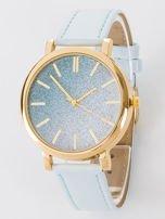 GLITTER OMBRE błekitny zegarek damski                                  zdj.                                  1