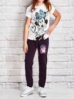 Grafitowe spodnie dresowe dla dziewczynki LITTLE UNICORN                                  zdj.                                  4
