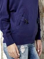Granatowa bluza z kapturem z kołeczkami Funk n Soul                                                                          zdj.                                                                         6