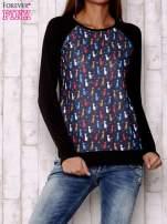 Granatowa bluza z kotami                                  zdj.                                  1