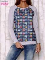 Granatowa bluza z sowami                                  zdj.                                  1