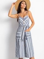 Granatowa sukienka Legitimately                                  zdj.                                  1