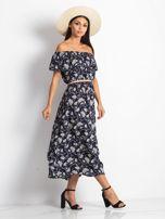 Granatowa sukienka Semen                                  zdj.                                  3